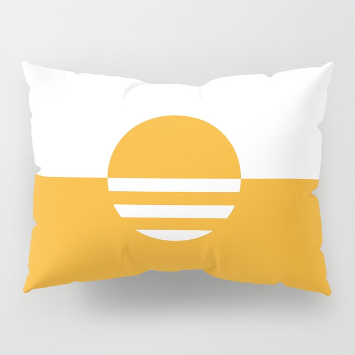 Milwaukee Wisconsin - Gold - People's Flag of Milwaukee Pillow Sham