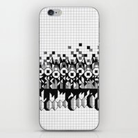 notebook iPhone & iPod Skins featuring School notebook 3 by Eva Bellanger
