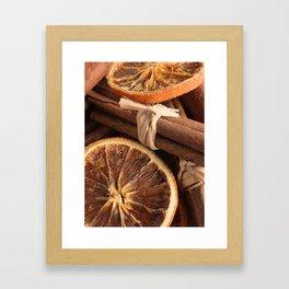 Slice & Spice Framed Art Print