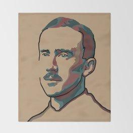 J.R.R. Tolkien Throw Blanket