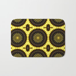 Sunflower Manipulation Grid 2 Bath Mat