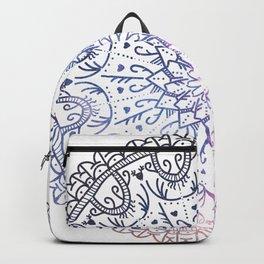 Love Mandala - Galaxy Color Backpack