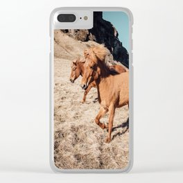 A Horse of Course Clear iPhone Case