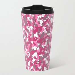 Pink camouflage pattern Travel Mug
