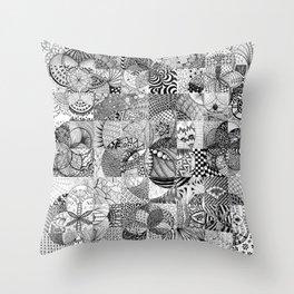 Art in Action Logo Throw Pillow