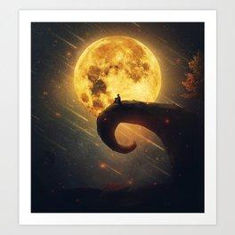 magic dreamland Art Print