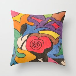Slightly Craved Throw Pillow