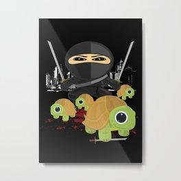 Ninja Turtles Metal Print