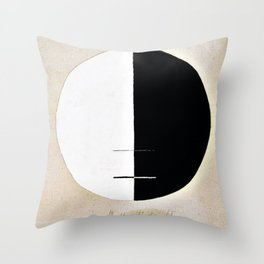 Buddha's Standpoint in the Earthly Life, No. 3a, Series XI - Digital Remastered Edition Throw Pillow