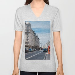 The Strand in London Unisex V-Neck