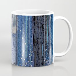Waterfall in blue Coffee Mug