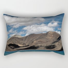 Journey to Pangong Lake Rectangular Pillow