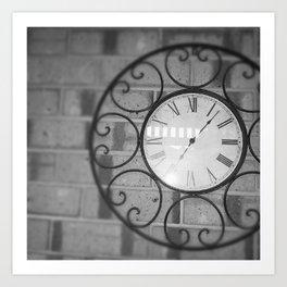 Like Clock Work Art Print