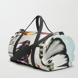 Robert John Thornton - Tulips Duffle Bag