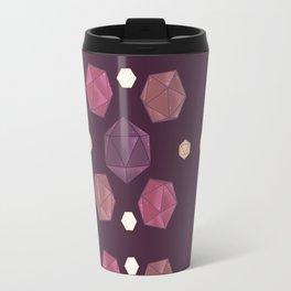 Red and Purple DnD Dice Travel Mug