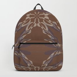 Pattern brown decoration Backpack