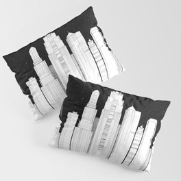 Kansas City Skyline at Night Pillow Sham