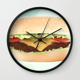 Hamburger Wall Clock