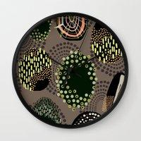 eggs Wall Clocks featuring Eggs by Aubree Eisenwinter