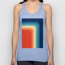 Retro 70s Color Palette III Unisex Tank Top