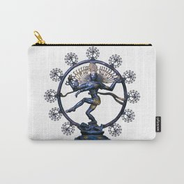 Shiva Nataraj, Lord of Dance (an actual factual fractal) Carry-All Pouch