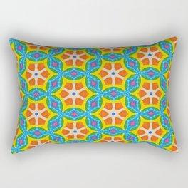 Fruity Retro Tropic Rectangular Pillow