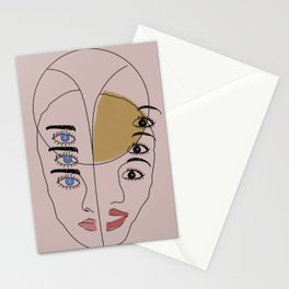 Triple Looks Stationery Cards