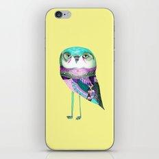 Owl Print iPhone Skin