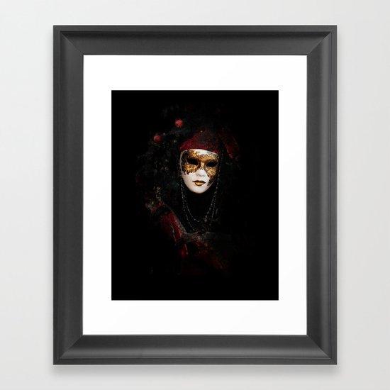 Mask 6 Framed Art Print