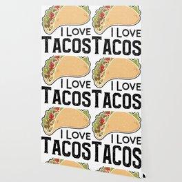 I Love Tacos Wallpaper