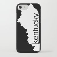kentucky iPhone & iPod Cases featuring Kentucky by Isabel Moreno-Garcia