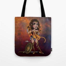 Bombshell Diana Tote Bag