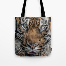 Tiger's Eyes Tote Bag
