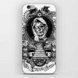 Memento mori iPhone Skin