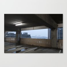 Put Up a Parking Lot Canvas Print