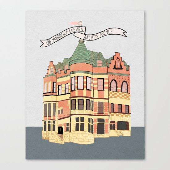 Archer Avenue Canvas Print