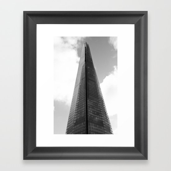 The Shard london Framed Art Print