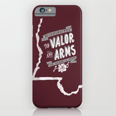 Mississippi Motto (Maroon) iPhone 6 Slim Case