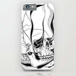 Soul Sucking Skull iPhone Case