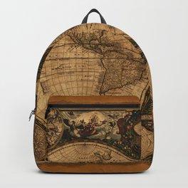 Nova Totius Terrarum Vintage Map Backpack