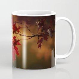 Red Maple Leaf Autumn Colors Photography Coffee Mug