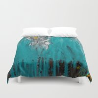 inspiration Duvet Covers featuring Inspiration by mzscreations