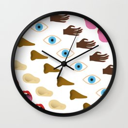 Sensory Pattern Wall Clock