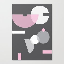 Geometric Calendar - Day 35 Canvas Print