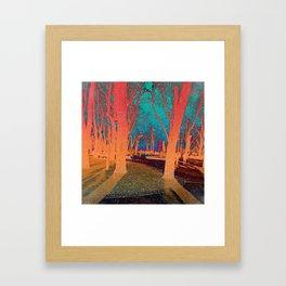 Sanctity in the Trees Framed Art Print