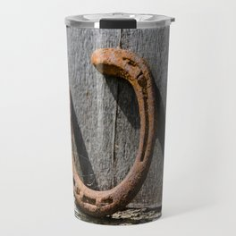 Horse shoes Travel Mug