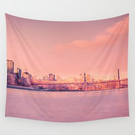 Sunsets Like These - New York City Wall Tapestry