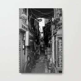 Kabukichou Alley Metal Print
