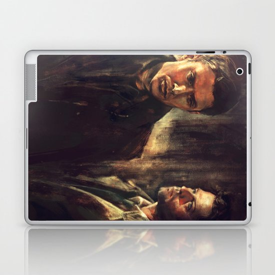 I Walk Beside You Laptop & iPad Skin