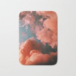 red clouds Bath Mat